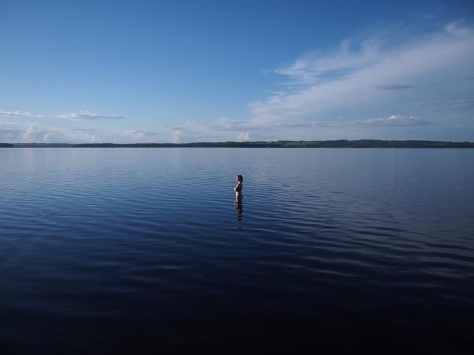 järvessä
