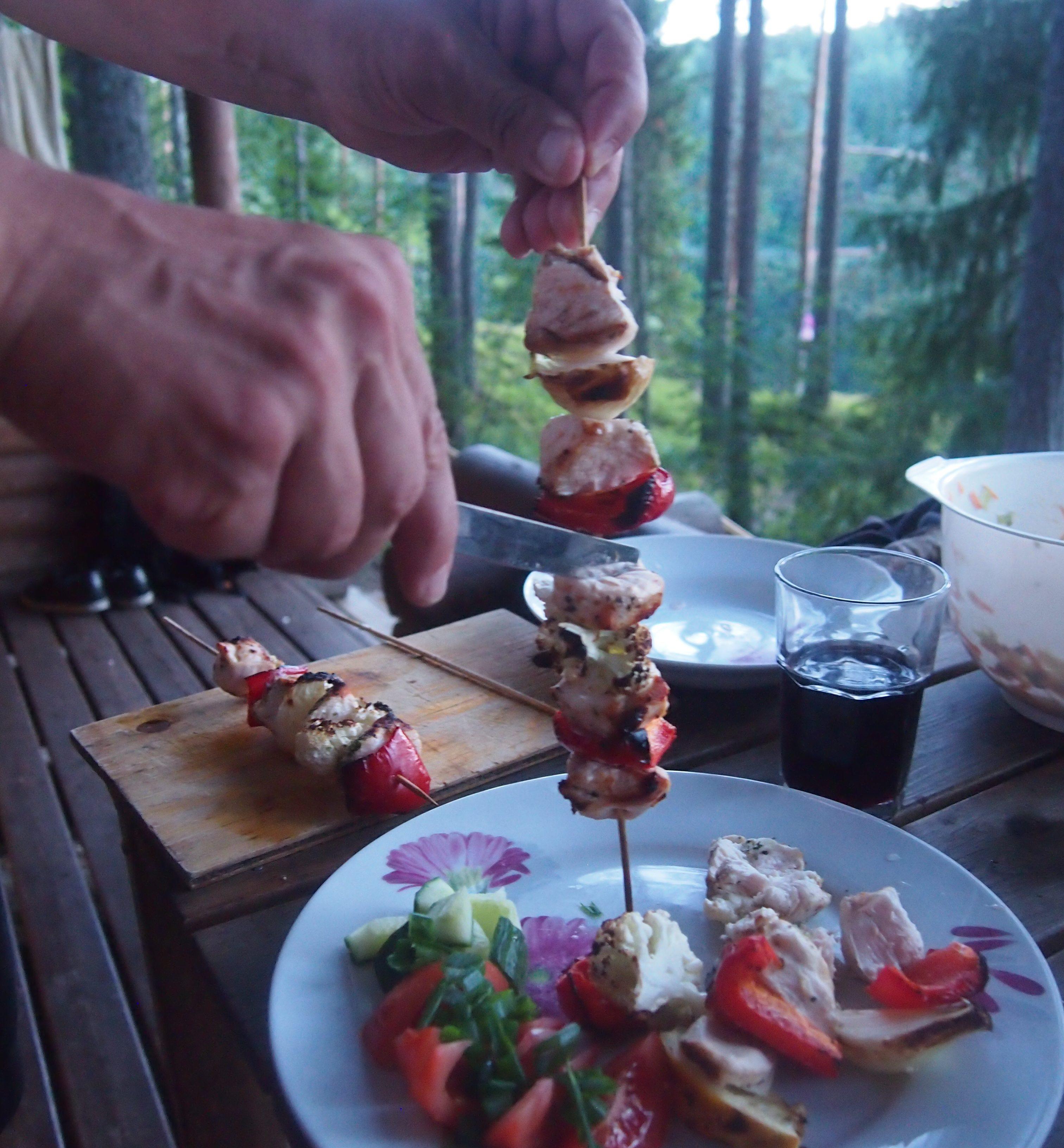 kanavartaat lautasella