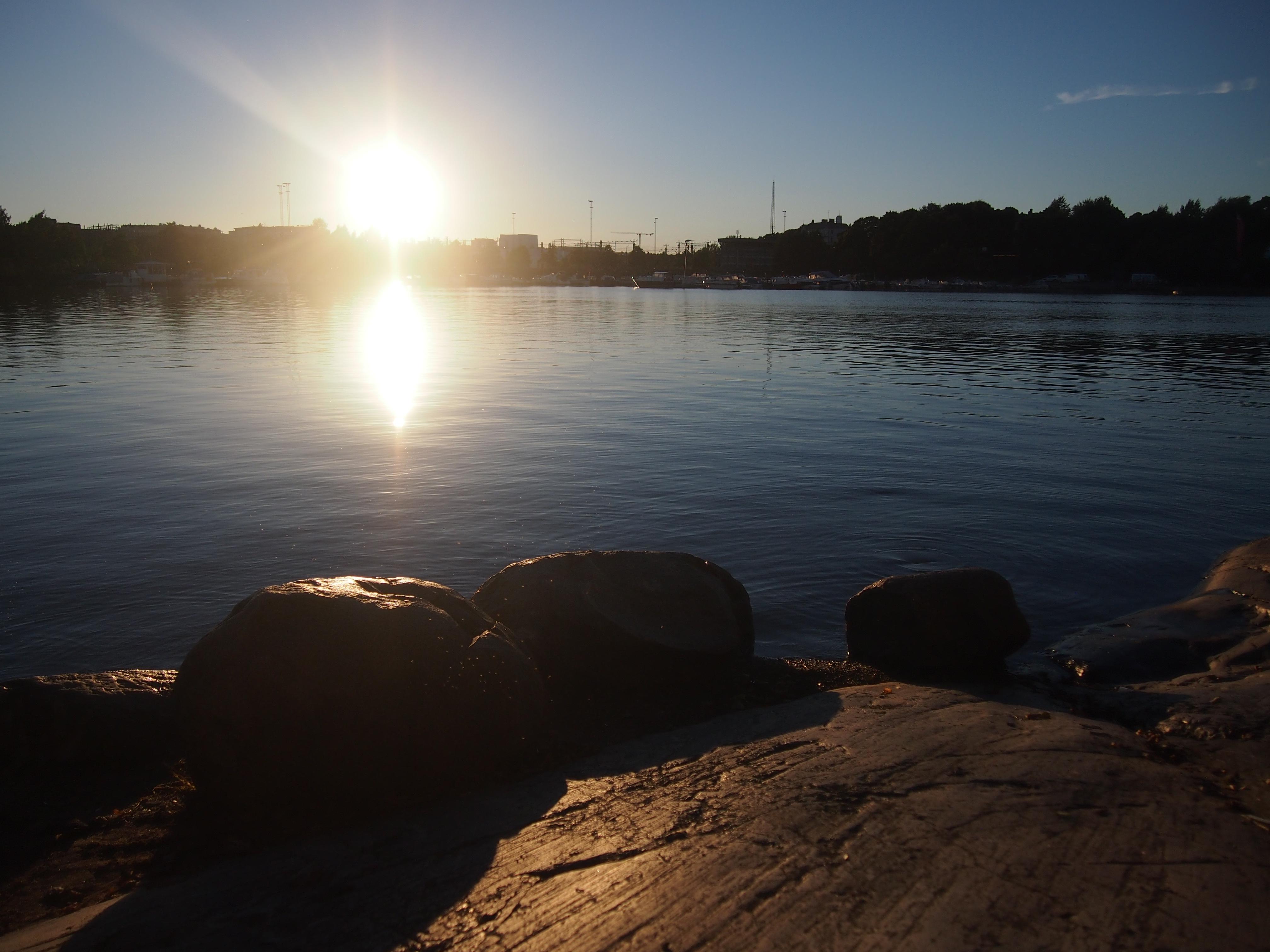 siltasaaren auringonlasku