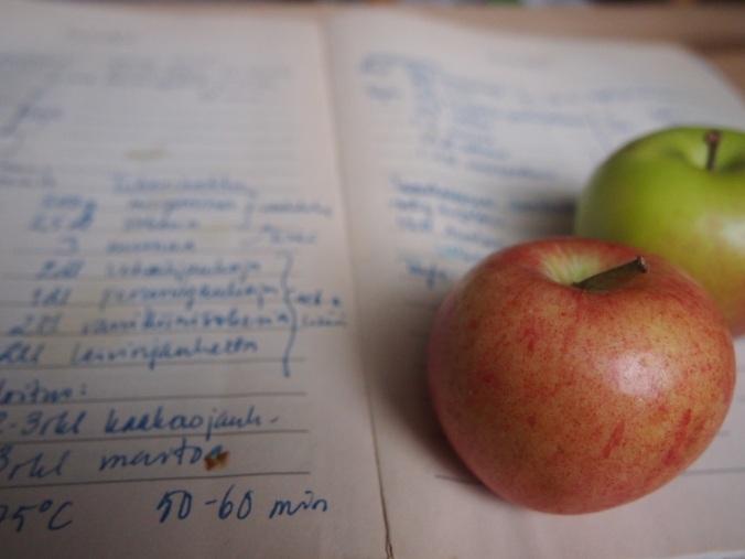 omenat ja omat reseptit