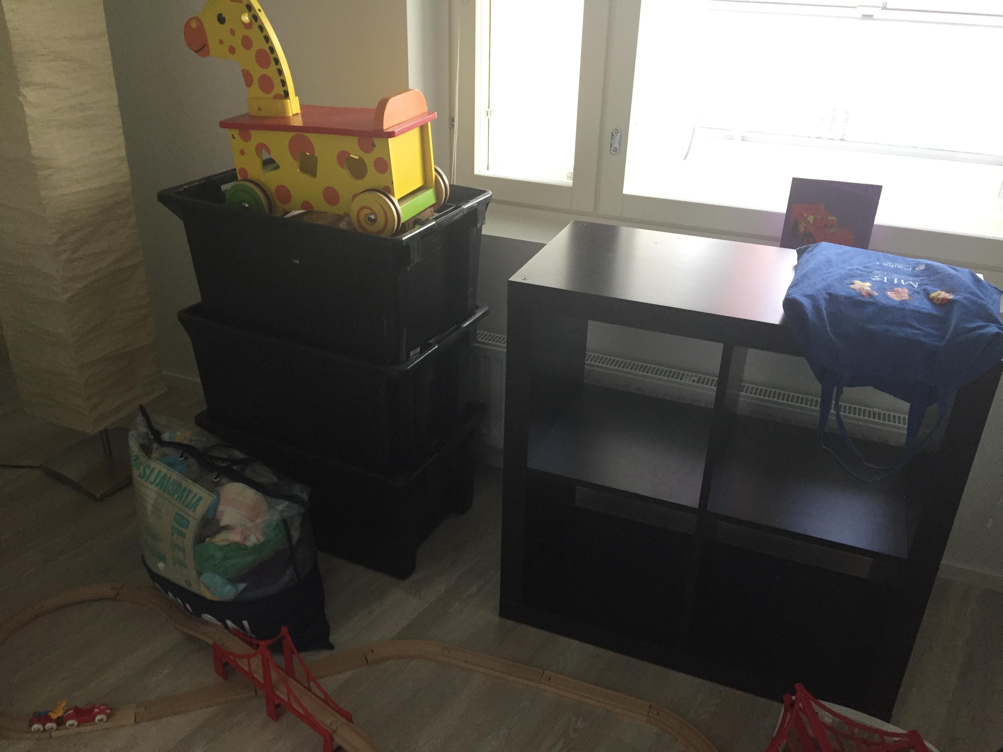 lastenhuone muuton jälkeen