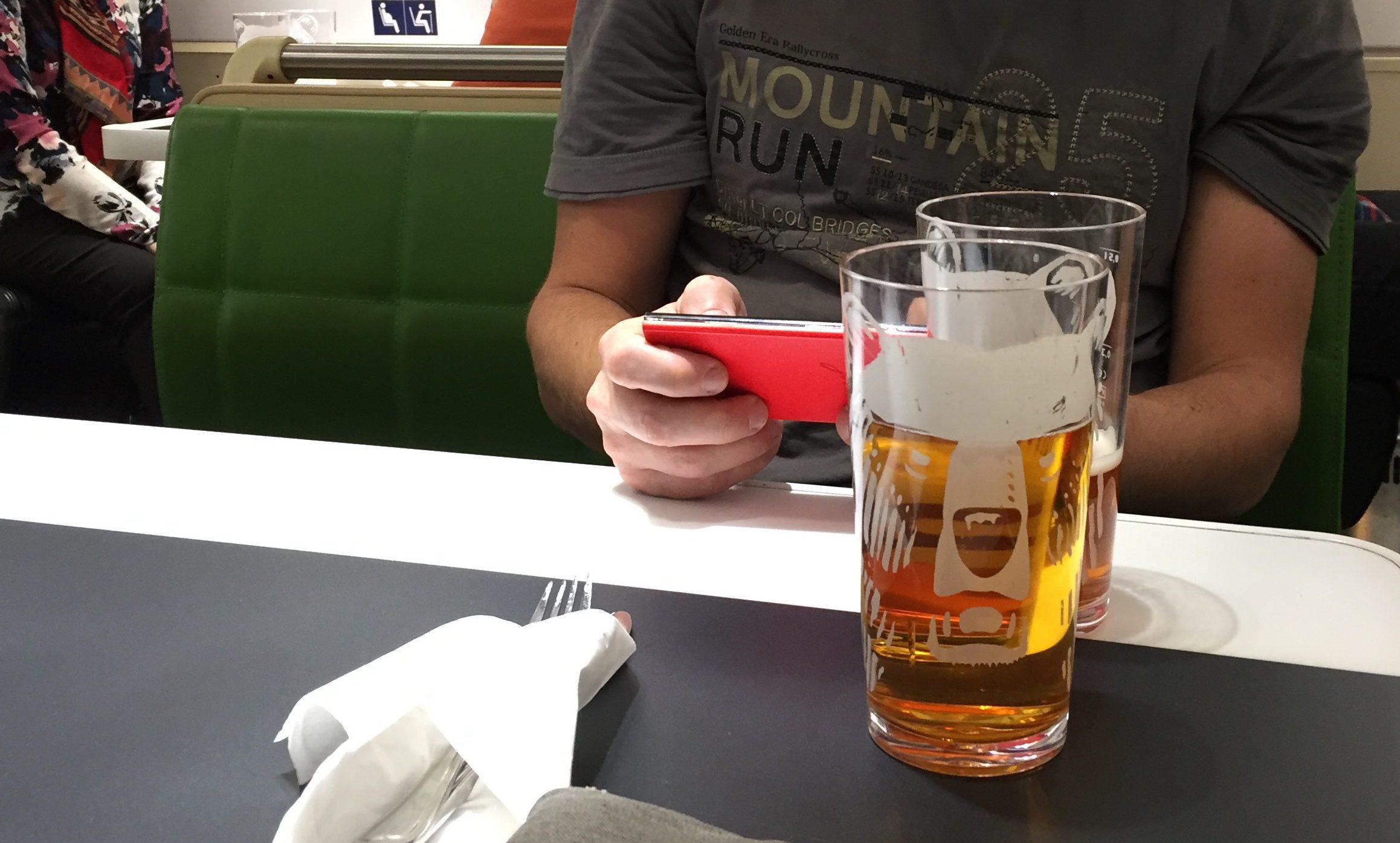 ravintolavaunussa