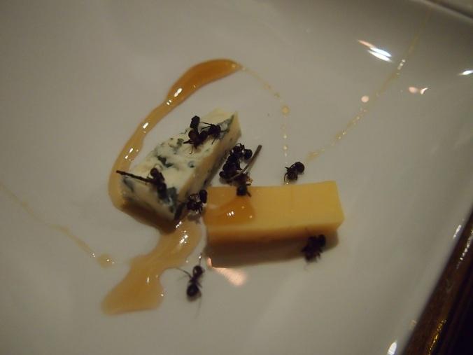 muurahaisia juustojen seurassa