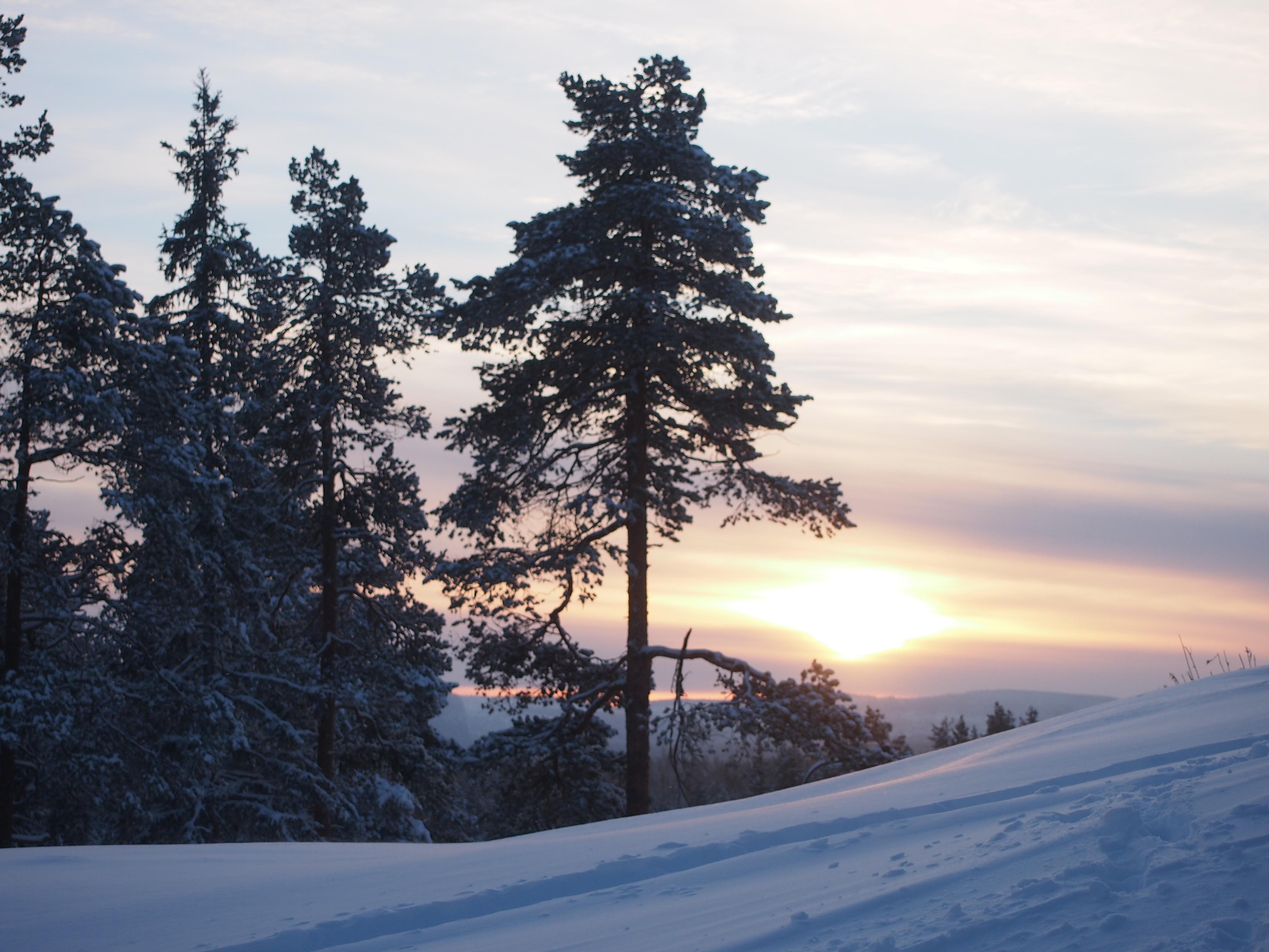 viimeisen päivän auringonlasku