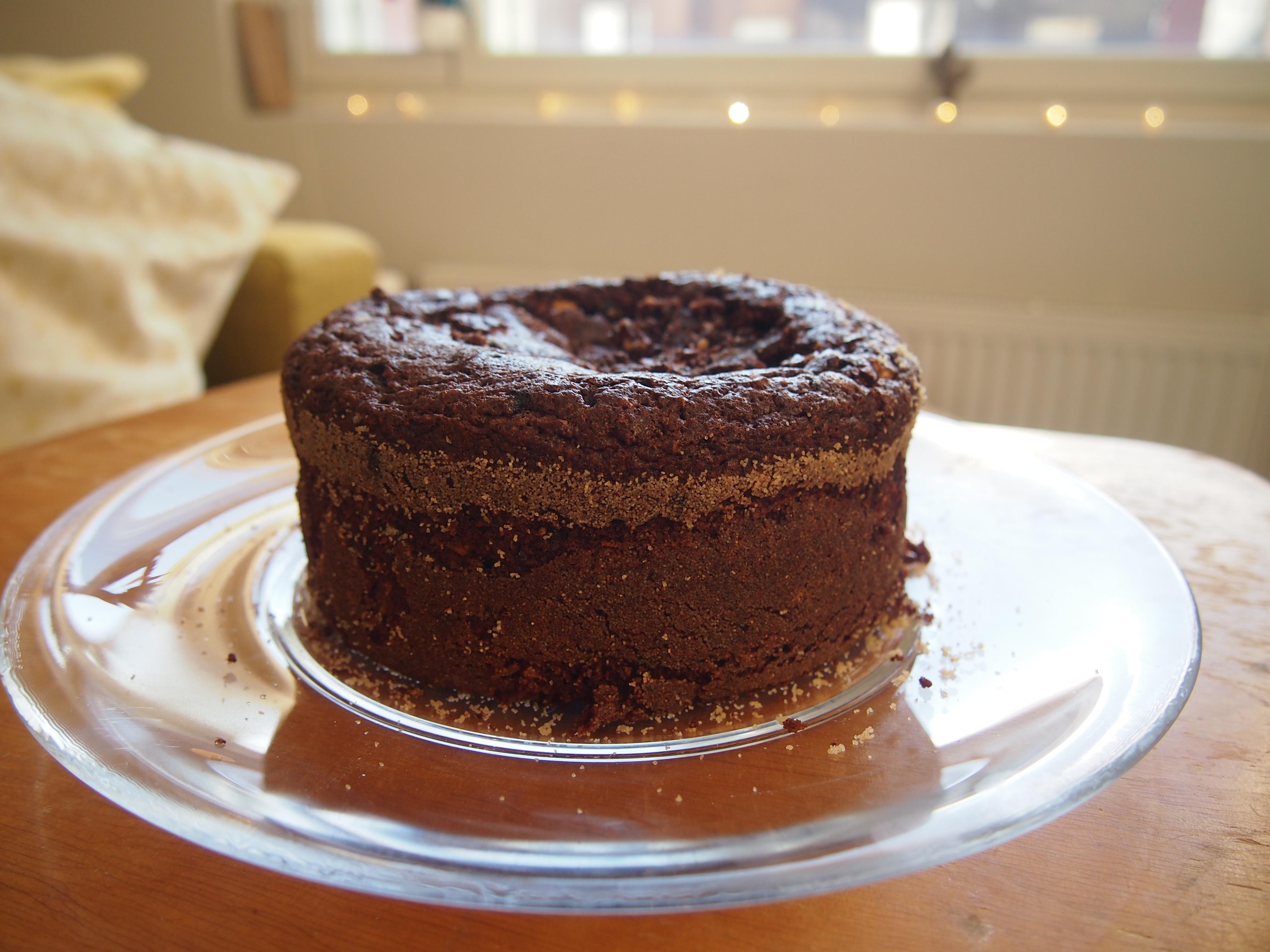 vajonnut kakkupohja