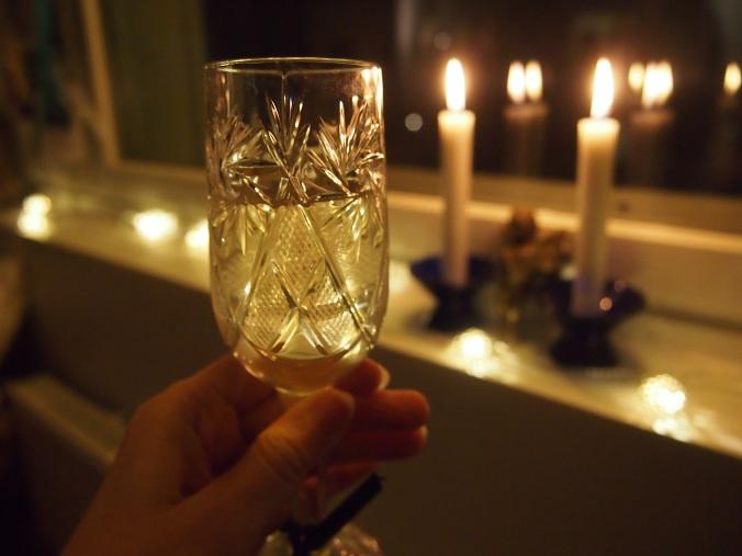 skumppaa ja kynttilät